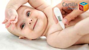 Guía para bajar la fiebre a tu bebé