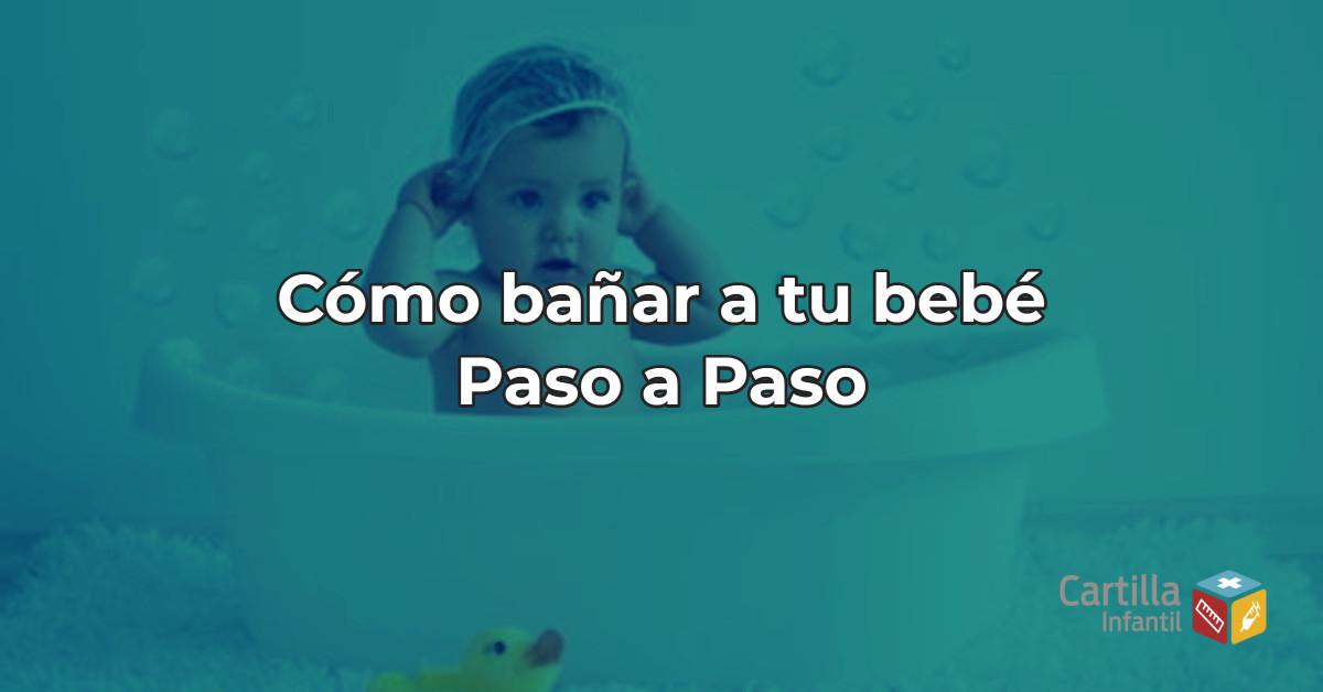 Cómo bañar a tu bebé