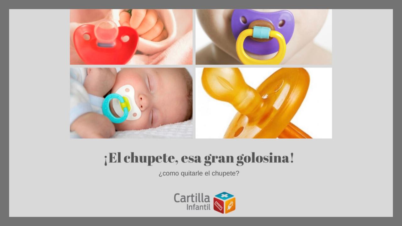 Consejos para conseguir quitarle el chupete a tu bebé