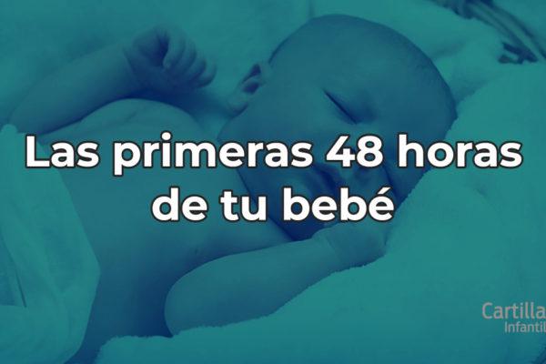 La llegada del bebé: Sus primeras 48 horas de vida